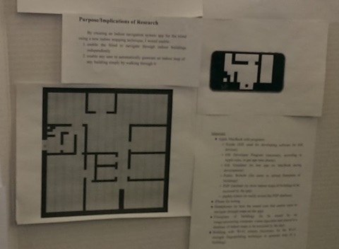 Developing an Automatic Indoor Mapping Technique to Create an Indoor Navigation System App for the Blind and Visually Impaired
